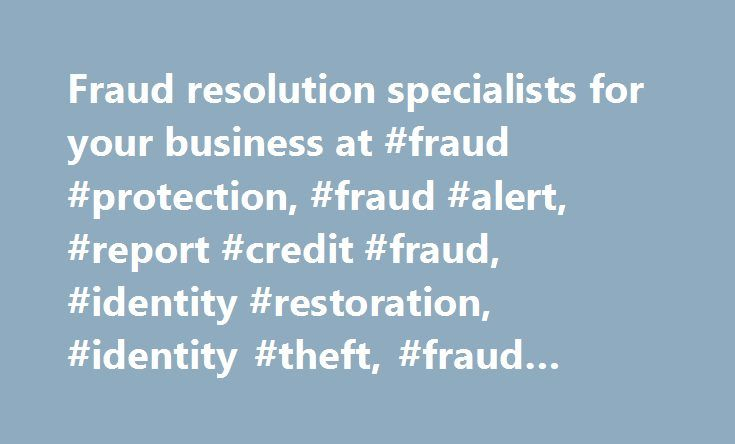 Fraud resolution specialists for your business at #fraud #protection, #fraud #alert, #report #credit #fraud, #identity #restoration, #identity #theft, #fraud #resolution http://rwanda.nef2.com/fraud-resolution-specialists-for-your-business-at-fraud-protection-fraud-alert-report-credit-fraud-identity-restoration-identity-theft-fraud-resolution/  # When clients turn to you asking for data breach guidance, you can feel confident referring them to Experian. We ll assign your client a dedicated…