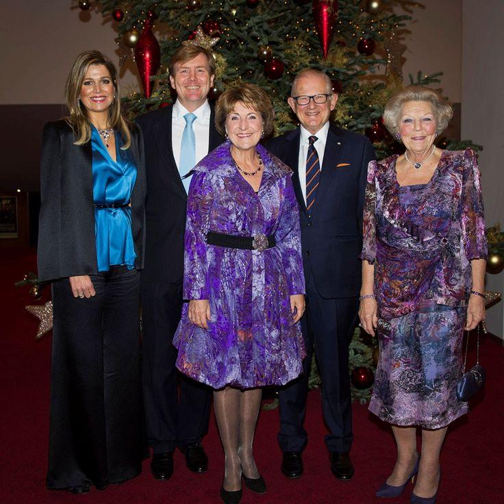 Koningin Máxima bij verjaardag prof. mr. Pieter van Vollenhoven | ModekoninginMaxima.nl 8-12-2014