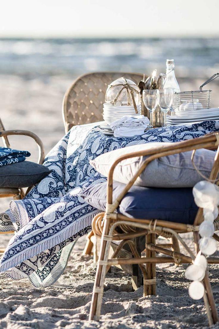 Inspirations : Une touche de bleu pour un décor d'été