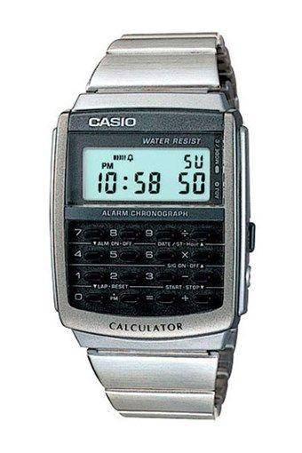 Reloj Calculadora de Cuarzo de Acero - Plateado, antes 54€ ahora 22€ en divinitycollection.es