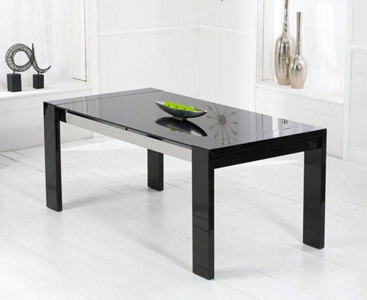 Cannes 180cm High Gloss Black Dining Table   contemporaryfurniture30 best Contemporary Furniture images on Pinterest   Contemporary  . High Gloss Black Dining Room Furniture. Home Design Ideas