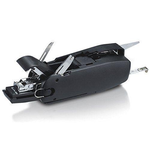 Station de Bureau — Ciseaux – Mètre dérouleur de 1 M – Agrafeuse – Perforatrice – Taille crayon – Ote agrafes – Cutter/ ouvre colis et…