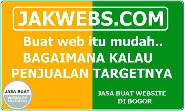 Jasa Pembuatan Website Bogor Indonesia