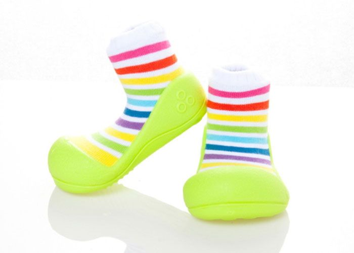 Attipas Rainbow Baby Shoes by Baby Strawberry