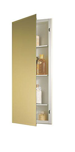 jensen 868p34whx bevel mirror medicine cabinet 16 x 36 for sale