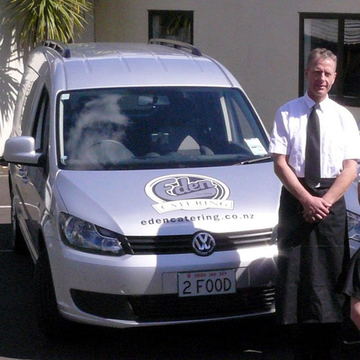 Eden Catering | Philipp, our friendly driver. Give him a wave if you see him on the streets around auckland