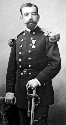 Alejo Segundo Santiago Gamboa, integrante del Regimiento 3° de Línea. Rango desconocido.
