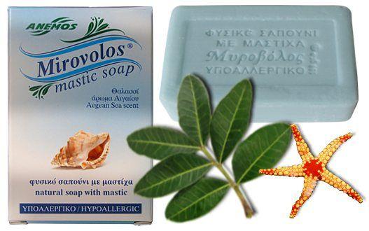 Σαπούνι με μαστίχα Θαλασσί ''Μυροβόλος''