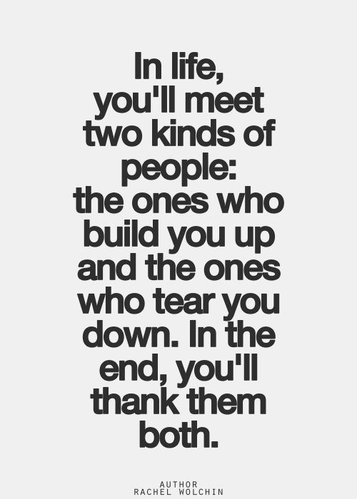 Lessons learned from both, even through all the heartbreaking pain some of them cause. Leave it to Karma to take care of them while you grow from the lessons they taught you.