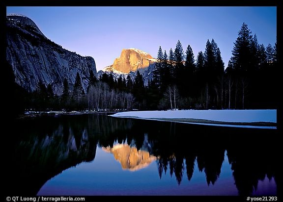 Yosemite!  I want to see all four seasons there.