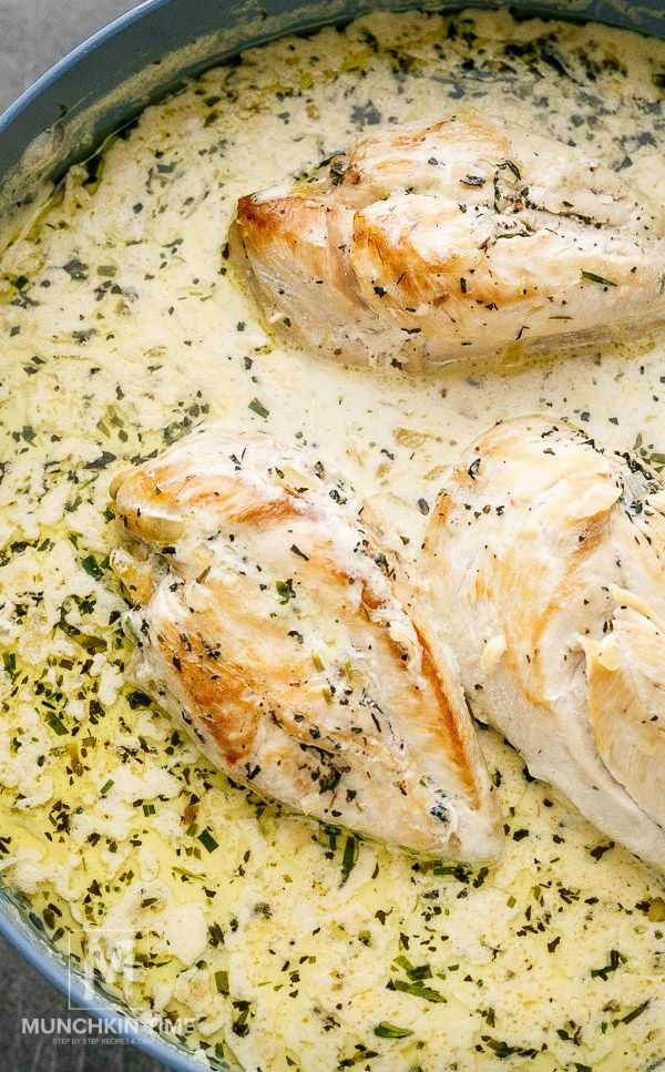 Easy Creamy Chicken Tarragon Recipe
