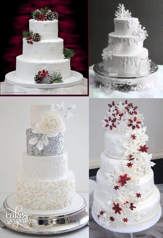 wedding cake for 30 guests 30 winter wedding ideas for the winter weddings 22703
