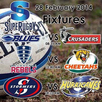 Super Rugby season is here. Good Luck to our South African teams playing this weekend. Who are you supporting this weekend? #superrugby #sport