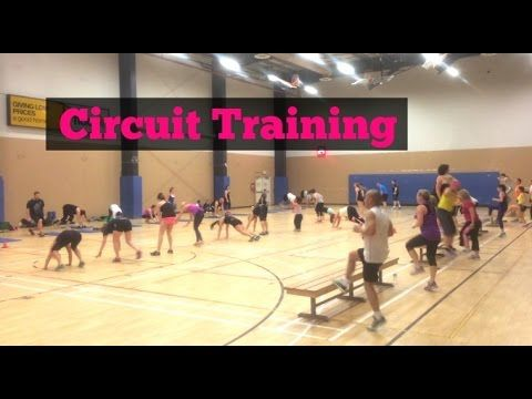 BIG GROUP Circuit Training - Boot Camp Ideas - YouTube