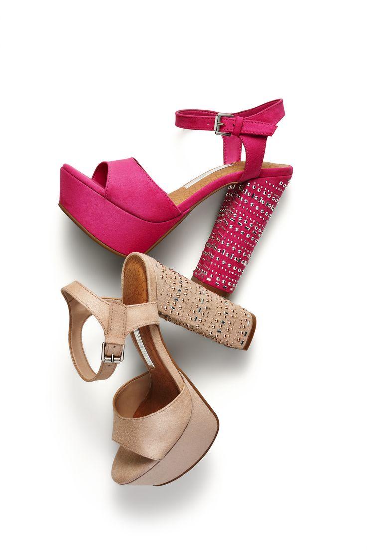 sandálias salto alto - salto grosso - nude- pink - high heels - summer shoes - Verão 2015 - Ref. 15-14456