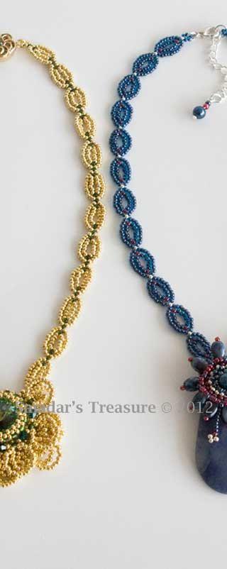Beading Tutorial Dainty Filigree Chain Necklace by SmadarsTreasure