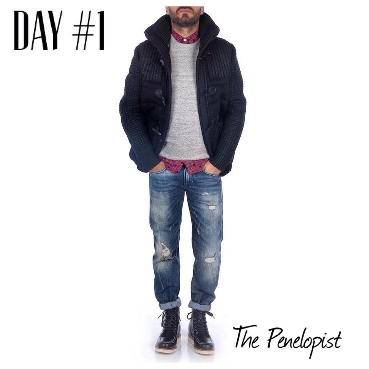 #ThePenelopist #Man #LookOfTheDay   #Shop Here > http://bit.ly/11stRG4   #Bark_Italy #Chippewa #ChippewaBoots #Department5 #CycleJeans #Penelope47 #Outfit #MenStyle #MensWear #Style #Fashion #FashionBlog #EnjoyTheStyle