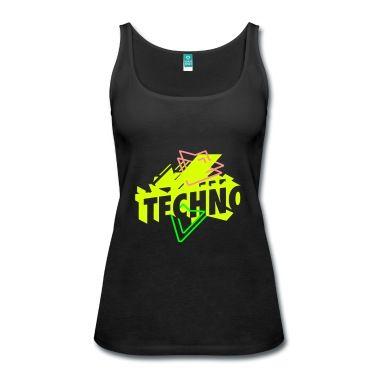 Techno Musik Graffiti