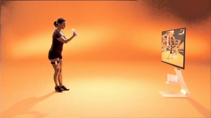 EA Sports Active Werbung 2010 mit Katharina Witt und David Beckham