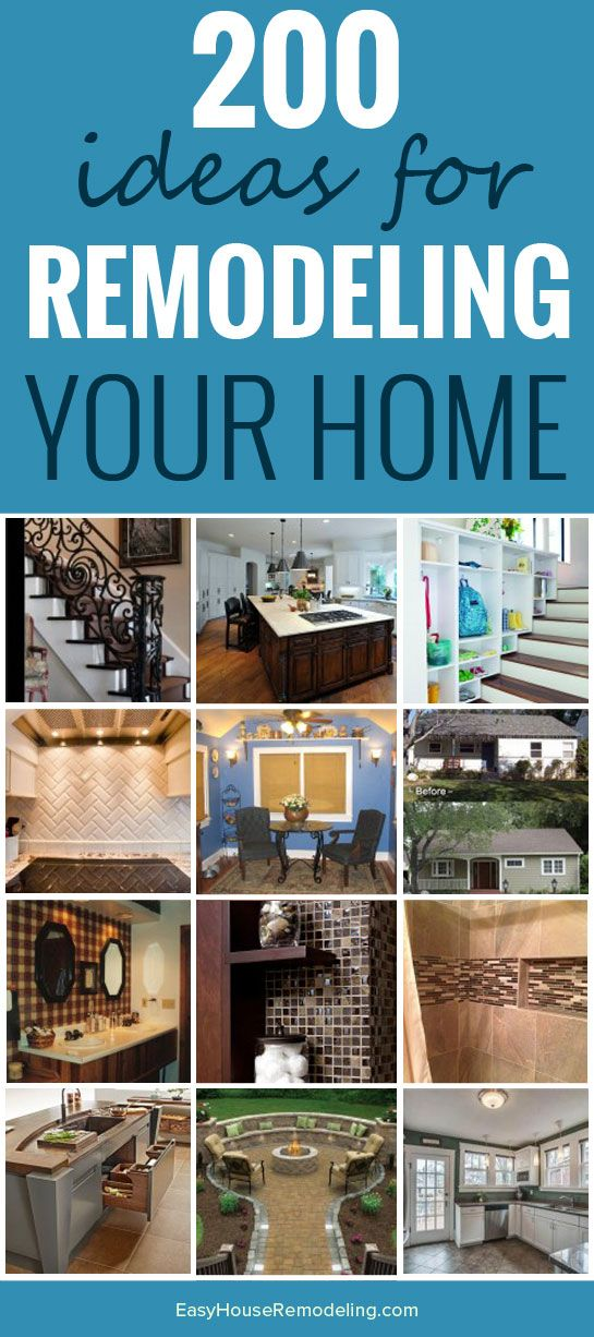 200 Ideas for Home Remodeling - House Renovation & Remodeling