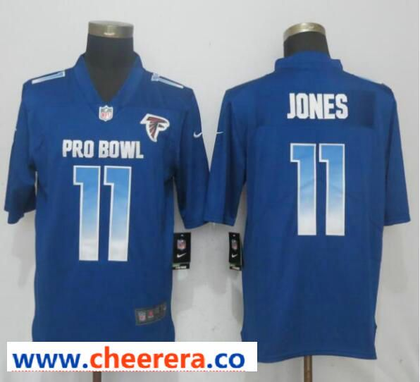 info for 9645c 746ef Nike NFC Falcons 11 Julio Jones Royal 2019 Pro Bowl Limited ...