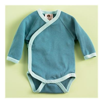 Kate Quinn Organics - love the kimono style. It makes it so easy to dress a newborn.