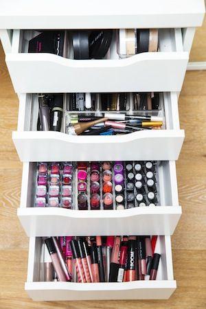 Lauren curtis' makeup organization.. Love !!