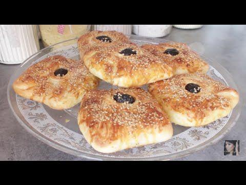 Recette : Msemen Farcis au poulet - Rghaif - Crêpes feuilletées au four - YouTube