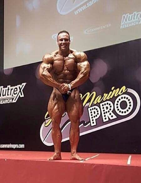 """#CorrectedJoshua Lenartowicz won the San Marino Pro show and he will compete next year at the 2016 Mr. Olympia for the first time. I saw him at the  2015 Arnold classic Australia watching the live stream but when you see this guy on the stage in real life you can tell """"wow!"""" He is a tall bodybuilder but has a lot of muscle and very big muscles! I saw him and i think.. wow he is in great shape and he can win the competition. He has a great back, big quads and big chest%"""