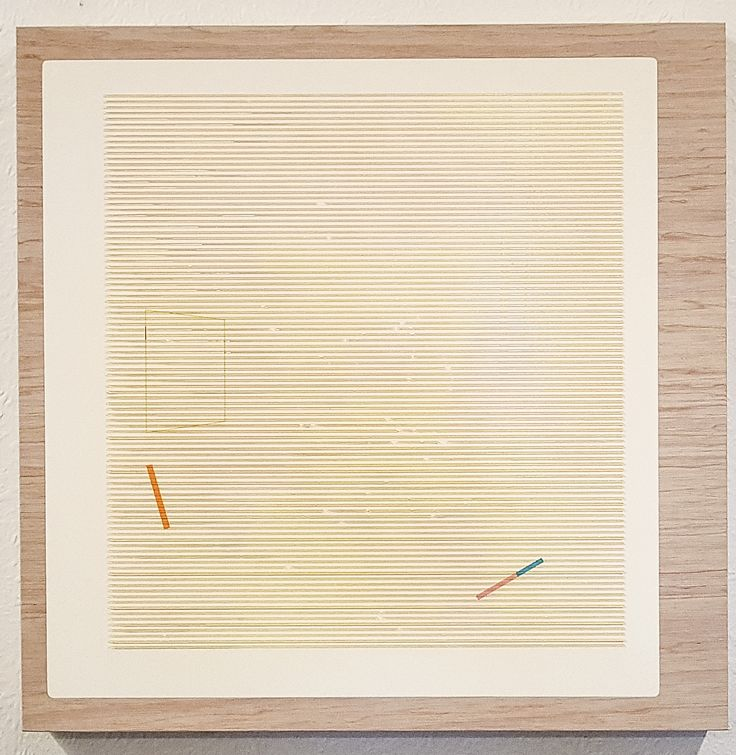 Nathan Suniula, 'Ambient red', acrylic on ply wood panel, 2016