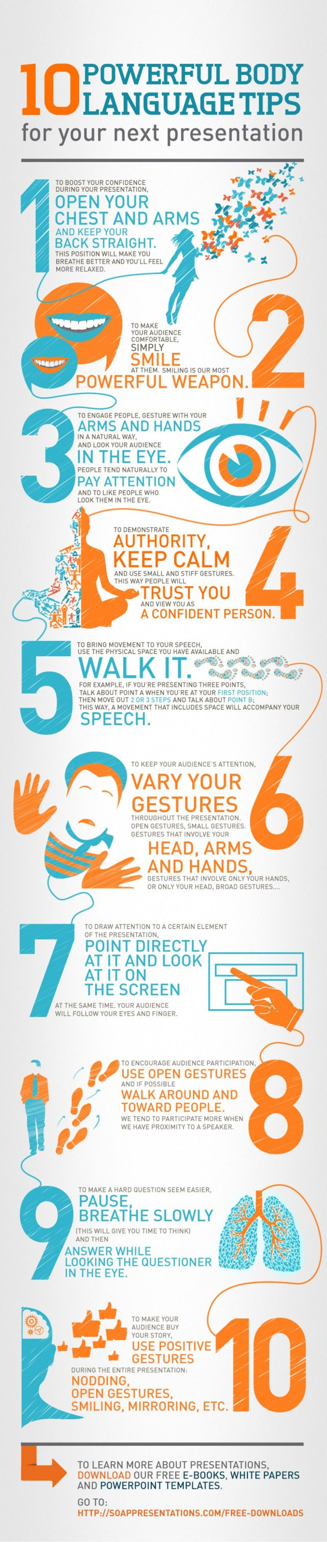 10 Great Body Language Tips for Your Next Presentation