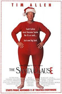 The Santa Clause - Christmas films to watch..