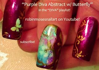 202 best nail art diva swag nails for divas images on pinterest robin moses nail art butterfly nails no water marble marble nails prinsesfo Images
