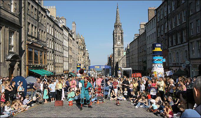 Edinburgh fest takes £2million | The Sun |News|Scottish News