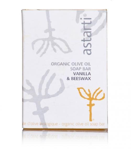 """Astarti"" organic vanilla & beeswax soap 80g @ just 6.20€"