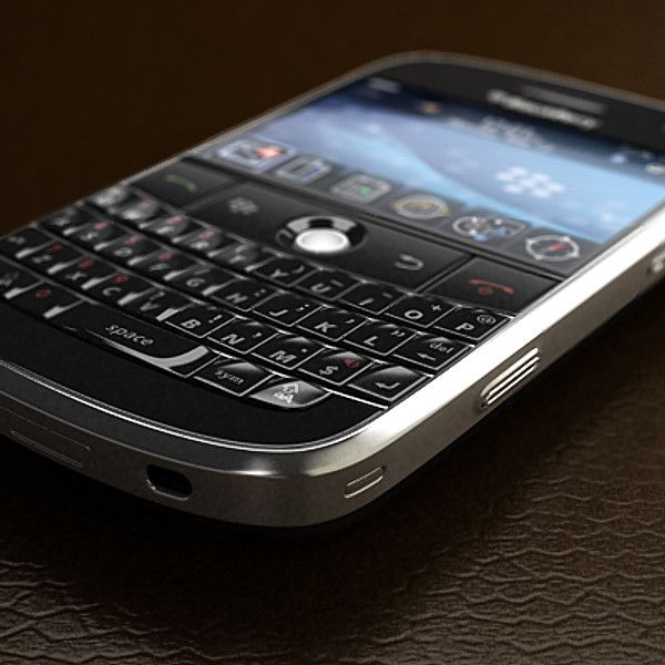 3D Blackberry Bold Model - 3D Model