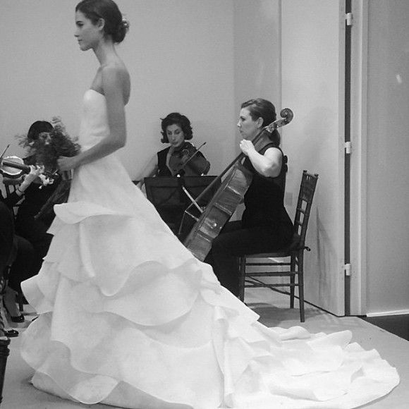 Carolina Herrera embraces florals and a youthful innocence for her Bridal Spring 2016 collection.