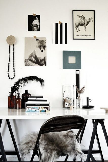 Black and white was a big trend on the runaway this season. We LOVE it in the home, too!