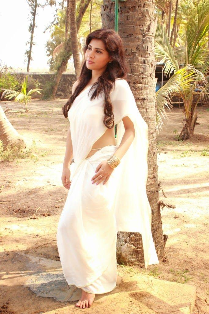 Surveen Chawla Hot Saree Below Navel Show Photos - SAREE