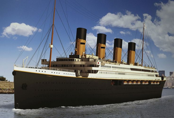 Titanic II will set sail in 2018!  An Australian billionaire is recreating the original Titanic ship (with a few modern [safety] updates).