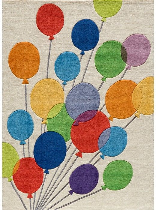 This Lil Mo Whimsy Multi Baloons Collection bright tone rug (LMJ16) is manufactured by Momeni. Forest critters, retro robots and mod flowers, oh my! Quirky motifs combine to put 'Lil Mo Whimsy in a class by itself.