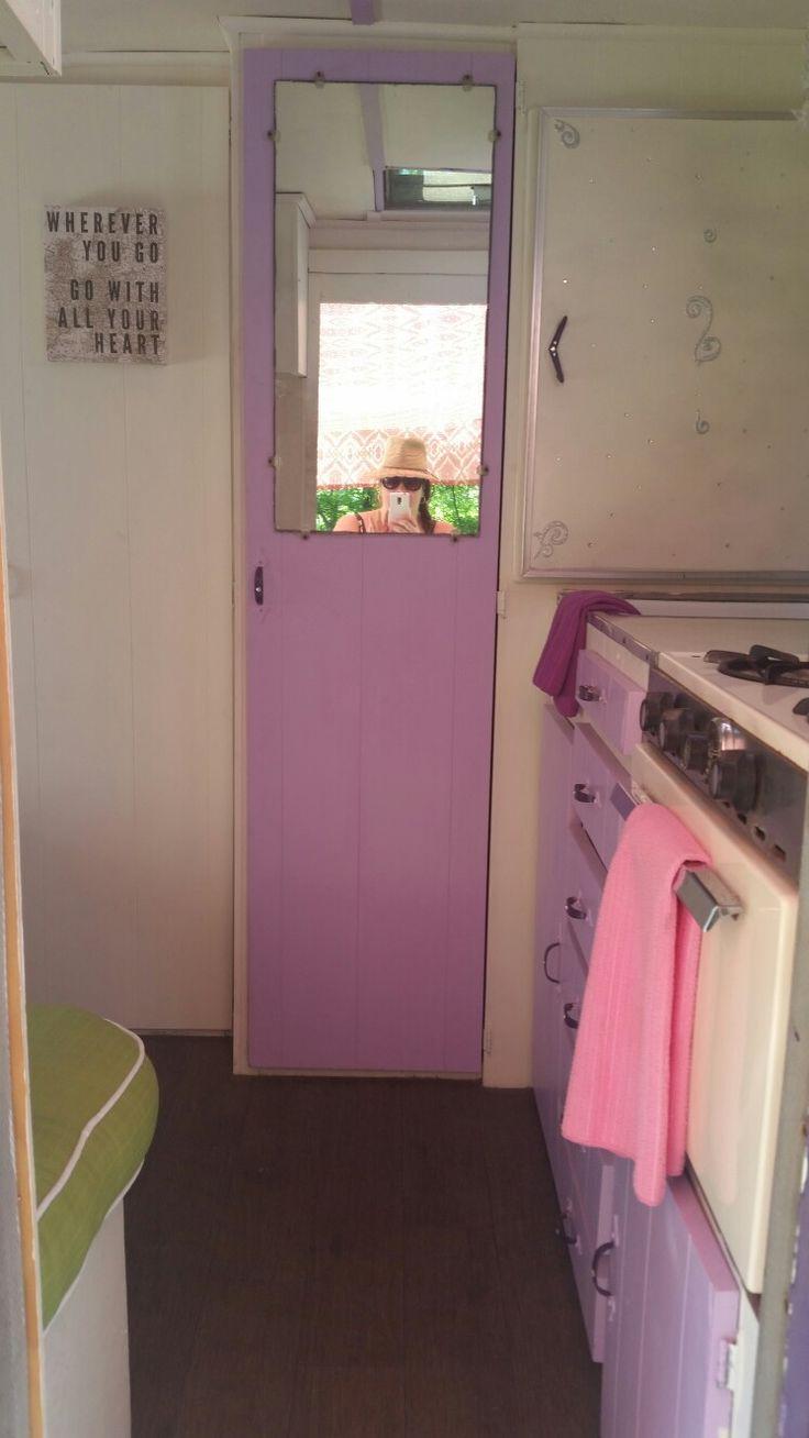 The Lovely Lady 1967 Shasta Compact Vintage Camper Glamper Closet