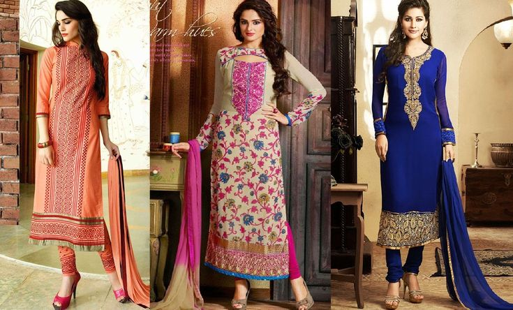Indian Fashion Latest churidar Suits Designs Collection 2015-2016 (36)