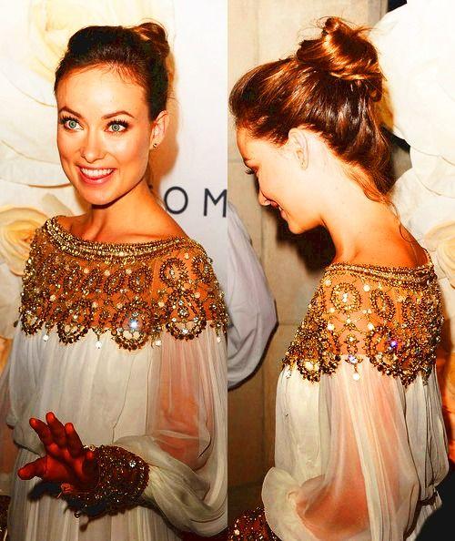 That dress....