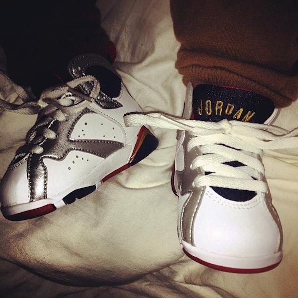 Nicole Snooki Polizzi Lorenzos First Jordans | BabyFashion | Pinterest |  Snooki
