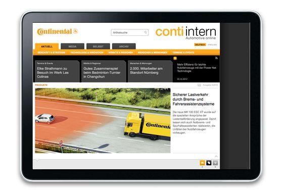 conti intern Automotive online – Mitarbeitermagazin der Continental AG