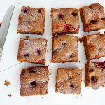 Recept: Suikervrije brownie met frambozen