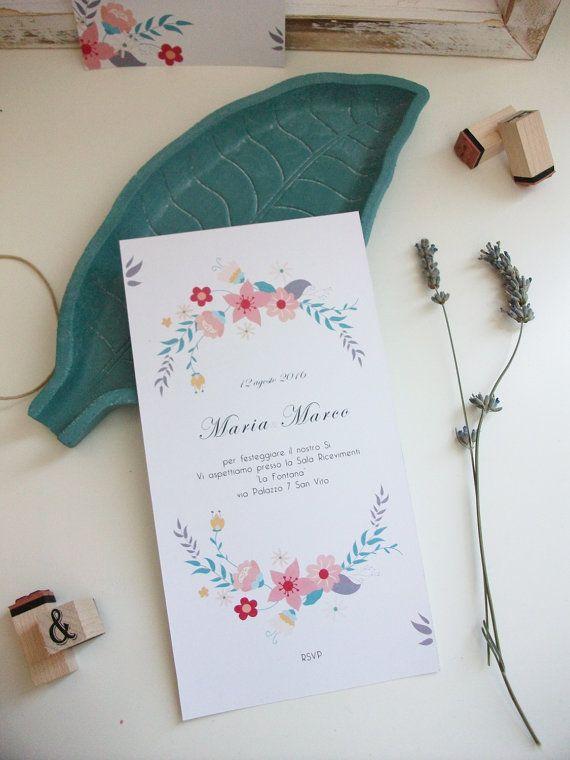 Wedding invitation. Suite di Partecipazioni di di 3dimensioni