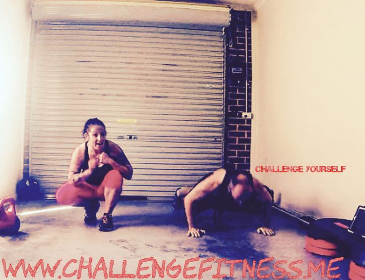 In order to change you need to challenge!