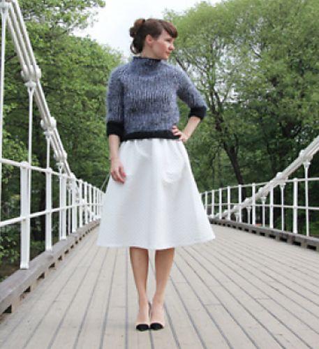 Ravelry: Black&White sweater / Svart-hvitt-genser pattern by Anna & Heidi Pickles